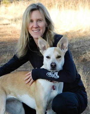Rachel with her running partner, Helen.